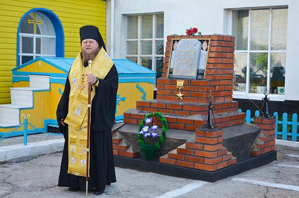 В ИК-5 УФСИН России по Алтайскому краю открыли обелиск, посвященный памяти воинам, погибшим в локальных войнах